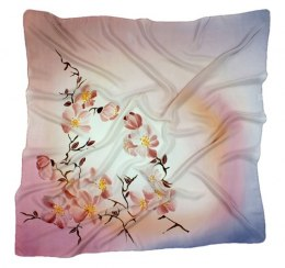 AM-007 Hand-painted Silk Scarf