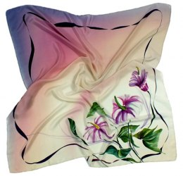 AM-008 Hand-painted Silk Scarf