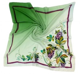 AM-115 Hand-painted Silk Scarf