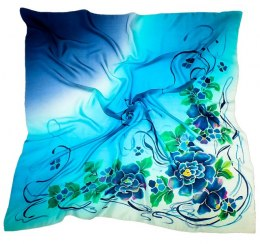 AM-112 Hand-painted Silk Scarf