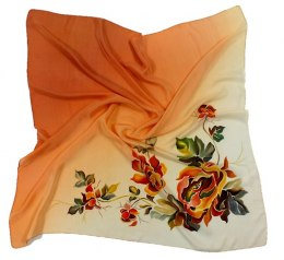 AM-113 Hand-painted Silk Scarf