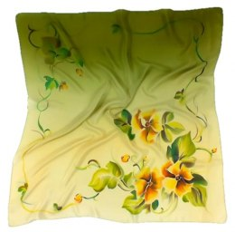AM-141 Hand-painted Silk Scarf