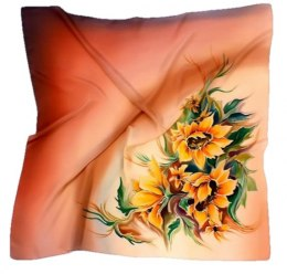 AM-144 Hand-painted Silk Scarf
