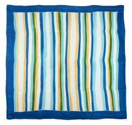 AM-447 Hand-painted silk scarf, 90x90cm