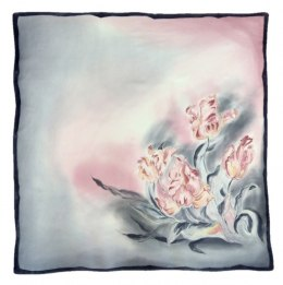 AM-358 Hand-painted Silk Scarf