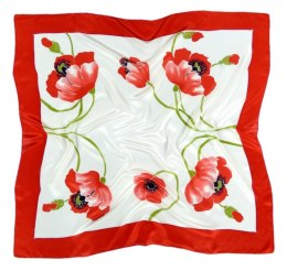 AM-368 Hand-painted silk scarf, 90x90cm