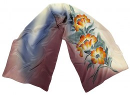 SZ-229 Hand-painted Silk Shawl