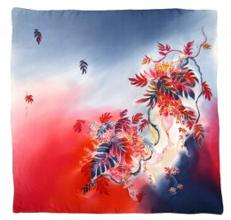 AM-411 Hand-painted Silk Scarf