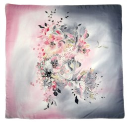 AM-414 Hand-painted Silk Scarf