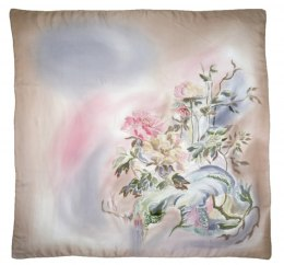 AM-412 Hand-painted Silk Scarf