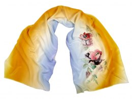 SZ-239 Hand-painted Silk Shawl