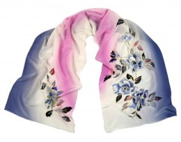 SZ-240 Hand-painted Silk Shawl