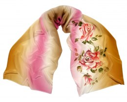 SZ-248 Hand-painted Silk Shawl