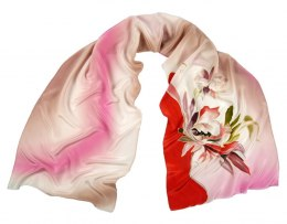 SZ-249 Hand-painted Silk Shawl