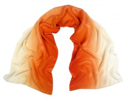 SZC-003 Silk scarf, hand shaded, 170x45 cm