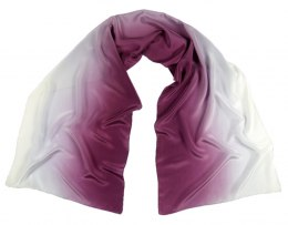 SZC-004 Silk scarf, hand shaded, 170x45 cm