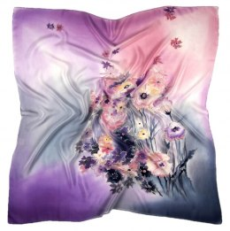 AM-417 Hand-painted Silk Scarf