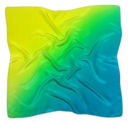AC9-076 Hand-shaded silk scarf, 90x90cm