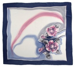 AM-378 Hand-painted Silk Scarf