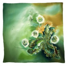 AM-422 Hand-painted Silk Scarf