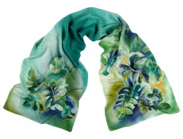 SZ-279 Hand-painted Silk Shawl