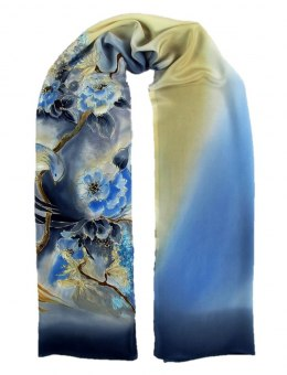SZ-282 Hand-painted Silk Shawl