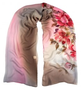 SZ-289 Hand-painted Silk Shawl