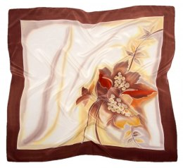 AM-391 Hand-painted Silk Scarf
