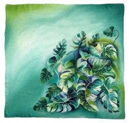 AM-425 Hand-painted Silk Scarf