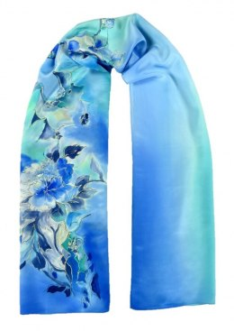 SZ-224 Hand-painted Silk Shawl