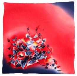 AM-419 Hand-painted Silk Scarf