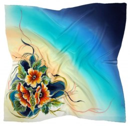 AM-606 Hand-painted Silk Scarf