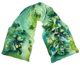 SZ-287 Hand-painted Silk Shawl