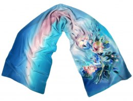 SZ-338 Hand-painted Silk Shawl
