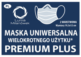 Mask with silver ions – Premium Plus 1 pcs.