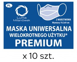 Mask with silver ions - Premium 10 pcs.