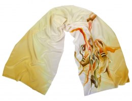 SZ-312 Hand-painted Silk Shawl
