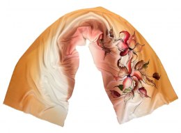 SZ-314 Hand-painted Silk Shawl