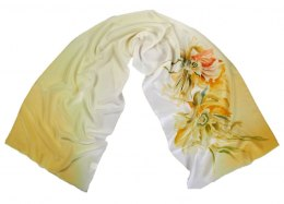 SZ-316 Hand-painted Silk Shawl