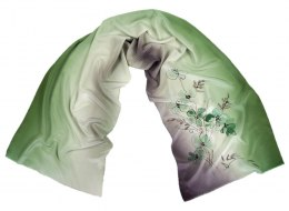 SZ-317 Hand-painted Silk Shawl
