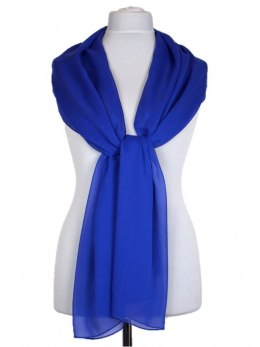 SZZ-002 One-color silk scarf - Georgette, 200x65cm