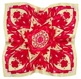 AD5-157 Small Silk Scarf Printed, 55x55 cm
