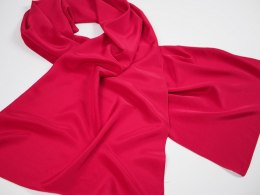 SZJ-007 One-color silk scarf, 170x45cm