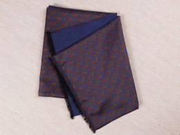 SR-206 Men's Silk Wool Double-Sided Shawl