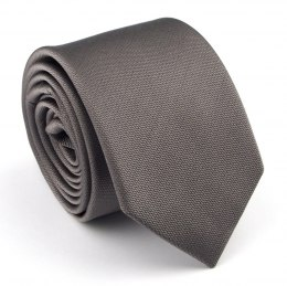 IT-429 Gray and Silver Silk Tie - MILANO