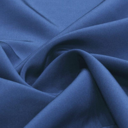 Light navy Crepe Silk Scarf, 170x45cm