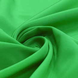 Light Green Crepe Silk Scarf, 170x45cm