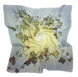 AM-182 Hand-painted Silk Scarf