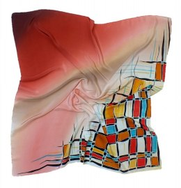AM-189 Hand-painted Silk Scarf