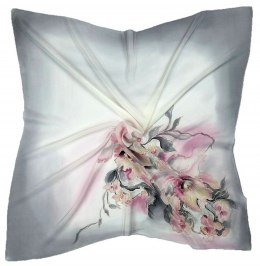 AM-212 Hand-painted Silk Scarf